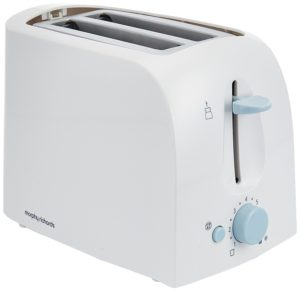 Morphy Richards AT-201 2-Slice 650-Watt Pop-Up Toaster